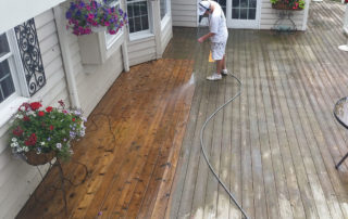 Power Wash, Deck Staining and Maintainenance