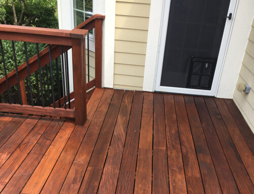 What us the best coating to protect a deck?