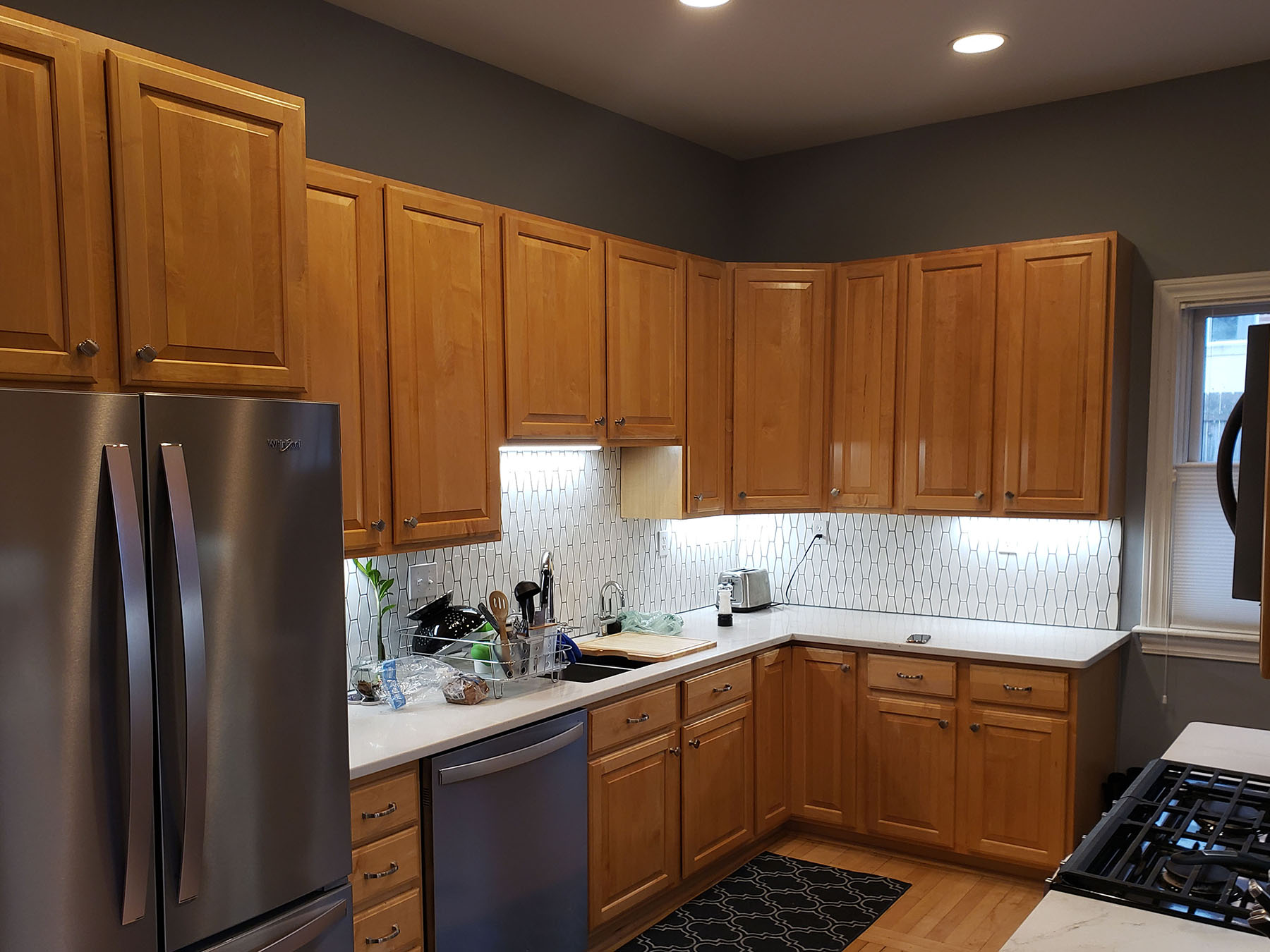 Painted Kitchen Cabinets | Two Day Painting