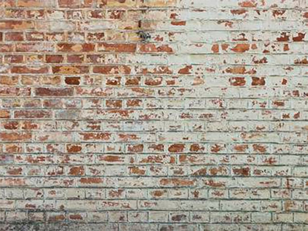 lime washed brick